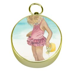 Beach Play Sm Gold Compass