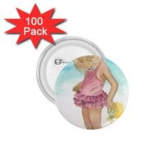 Beach Play Sm 1 75  Button (100 Pack)