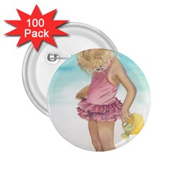 Beach Play Sm 2 25  Button (100 Pack)