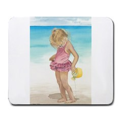 Beach Play Sm Large Mouse Pad (Rectangle)