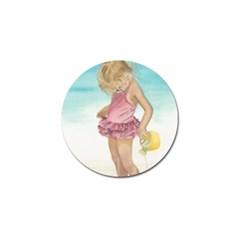 Beach Play Sm Golf Ball Marker 4 Pack