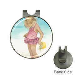 Beach Play Sm Hat Clip with Golf Ball Marker