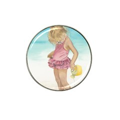 Beach Play Sm Golf Ball Marker (for Hat Clip)
