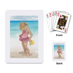 Beach Play Sm Playing Cards Single Design