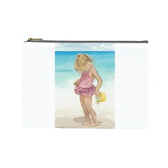 Beach Play Sm Cosmetic Bag (large)