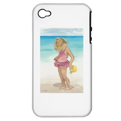 Beach Play Sm Apple Iphone 4/4s Hardshell Case (pc+silicone)