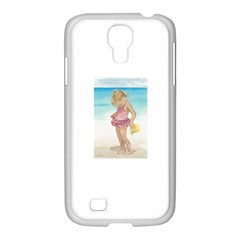Beach Play Sm Samsung Galaxy S4 I9500/ I9505 Case (white)