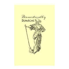 Domestically Disabled Shower Curtain 48  x 72  (Small)