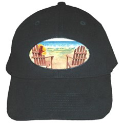Time To Relax Black Baseball Cap