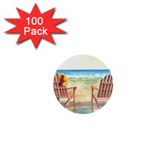 Time To Relax 1  Mini Button (100 pack)