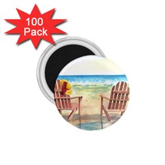 Time To Relax 1.75  Button Magnet (100 pack)