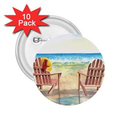 Time To Relax 2.25  Button (10 pack)
