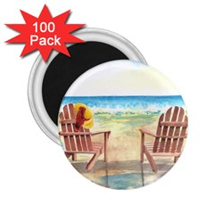 Time To Relax 2.25  Button Magnet (100 pack)