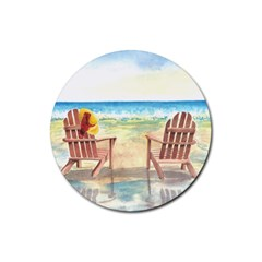 Time To Relax Drink Coasters 4 Pack (Round)