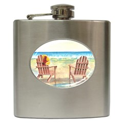 Time To Relax Hip Flask