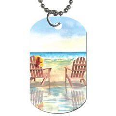 Time To Relax Dog Tag (two Sided)