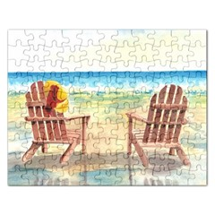 Time To Relax Jigsaw Puzzle (Rectangle)