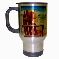 Time To Relax Travel Mug (Silver Gray)