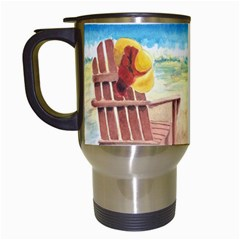Time To Relax Travel Mug (White)