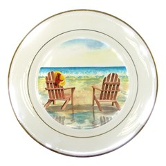 Time To Relax Porcelain Display Plate