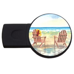 Time To Relax 4GB USB Flash Drive (Round)