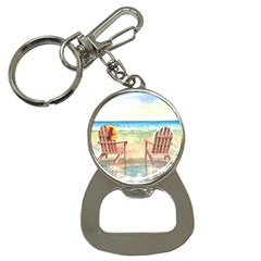 Time To Relax Bottle Opener Key Chain