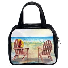 Time To Relax Classic Handbag (two Sides)