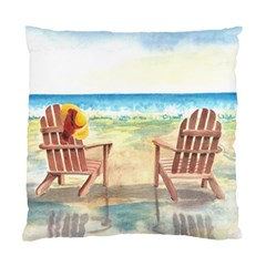 Time To Relax Cushion Case (Single Sided)