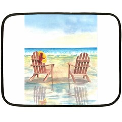 Time To Relax Mini Fleece Blanket (Two Sided)