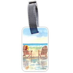 Time To Relax Luggage Tag (One Side)