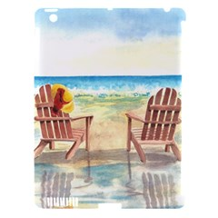 Time To Relax Apple Ipad 3/4 Hardshell Case (compatible With Smart Cover)