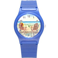 Time To Relax Plastic Sport Watch (Small)