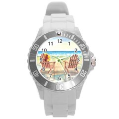 Time To Relax Plastic Sport Watch (Large)