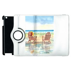 Time To Relax Apple iPad 2 Flip 360 Case