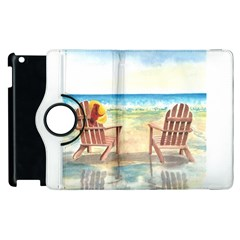 Time To Relax Apple Ipad 3/4 Flip 360 Case
