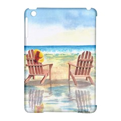 Time To Relax Apple iPad Mini Hardshell Case (Compatible with Smart Cover)