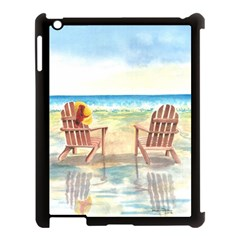 Time To Relax Apple iPad 3/4 Case (Black)