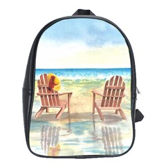Time To Relax School Bag (xl)