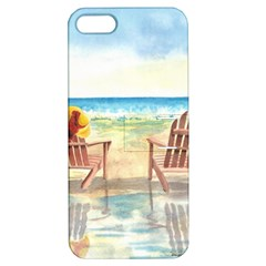 Time To Relax Apple Iphone 5 Hardshell Case With Stand