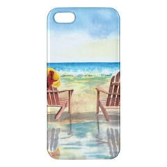 Time To Relax Apple Iphone 5 Premium Hardshell Case