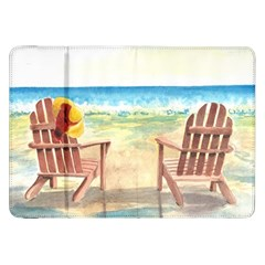 Time To Relax Samsung Galaxy Tab 8.9  P7300 Flip Case