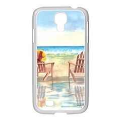 Time To Relax Samsung GALAXY S4 I9500/ I9505 Case (White)