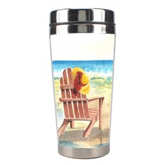 Time To Relax Stainless Steel Travel Tumbler