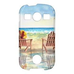 Time To Relax Samsung Galaxy S7710 Xcover 2 Hardshell Case
