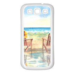 Time To Relax Samsung Galaxy S3 Back Case (white)