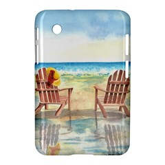 Time To Relax Samsung Galaxy Tab 2 (7 ) P3100 Hardshell Case