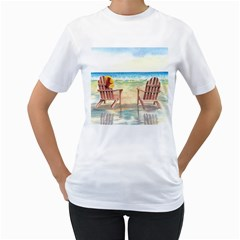 Time To Relax Women s T Shirt (white)
