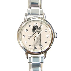 Perfect Grace Round Italian Charm Watch