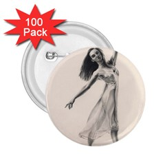 Perfect Grace 2.25  Button (100 pack)