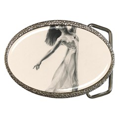 Perfect Grace Belt Buckle (Oval)